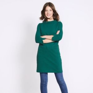 Boden Louise Jersey Ribbed Tunic Dress 2R